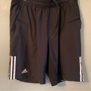 Adidas climactic long loose athletic shorts